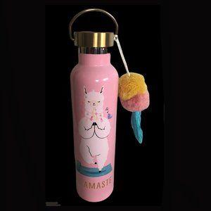 Hallmark Yoga Llama 25 oz Hydrated Water Bottle